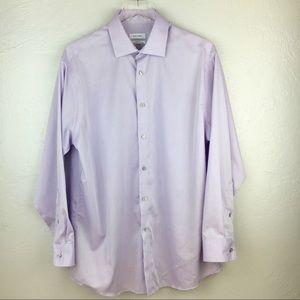 Calvin Klein Regular Fit 16 1/2 Neck 32/33 Sleeve